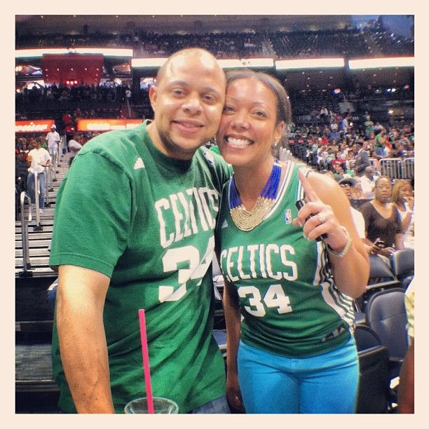 Lots of green in Philips Arena tonight!