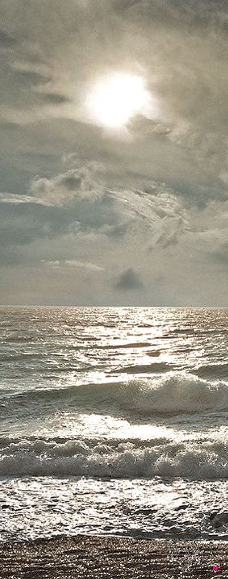 Frivolous Fabulous - Silver Ocean View