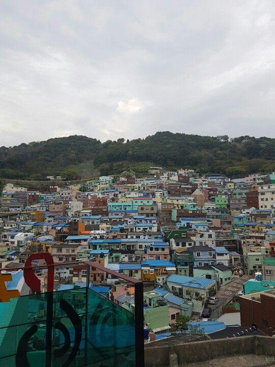 at gamcheon culture village #busan