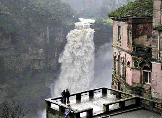 Tequendama Waterfalls, Bogota, Colombia