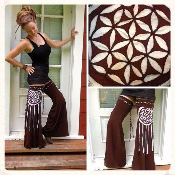 CUSTOM Flower of Life Dream Catcher Mandala~Leg Flares ~Leggies ~Extra Tall Thigh High Leg Warmers ~ by Sumeria Sierra by SumeriaSierra on Etsy