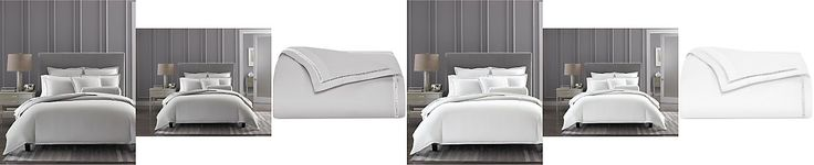 Hotel Collection Ladder Stitch Pique Bedding Collection, Only at Macy's