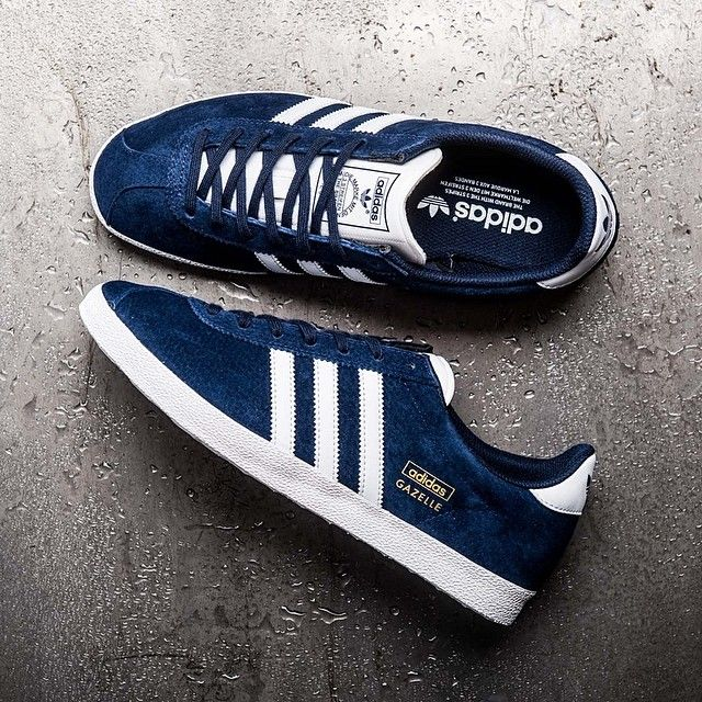 Adidas Gazelle OG in Indigo is available online now (046825 - £64.99) #footasylum #adidasoriginals #gazelleog @adidasoriginals