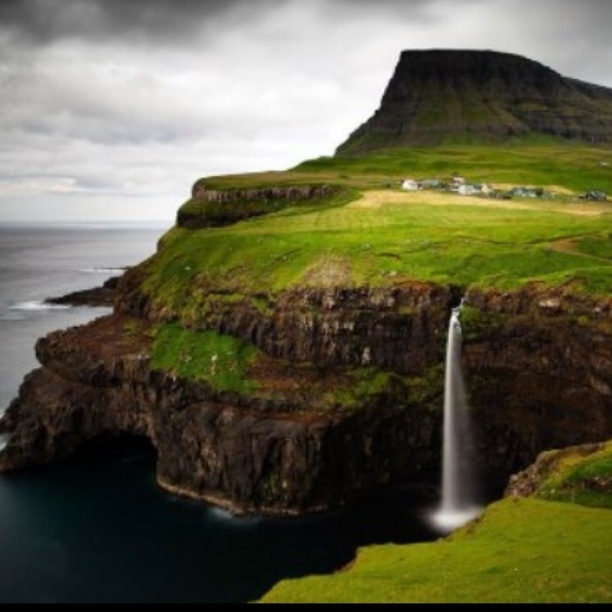 Nolsoy Island, Nólsoy, Faroe Islands - Beautiful
