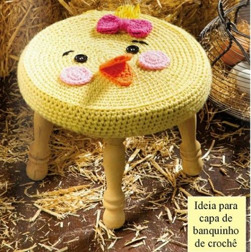 croche na decoracao