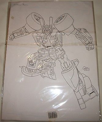 #Transformers #energon prowl original toy box art - guido #guidi,  View more on the LINK: http://www.zeppy.io/product/gb/2/302163057873/