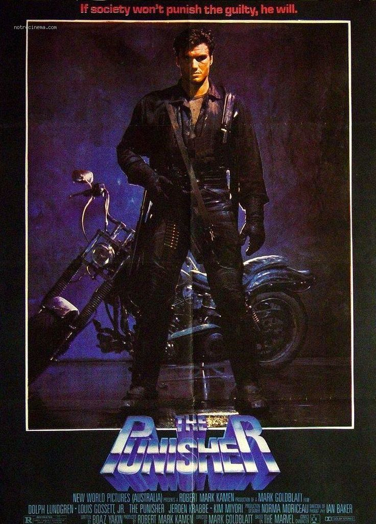 5-5-2015: The Punisher (1989) Poster