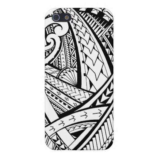 samoan design phone case