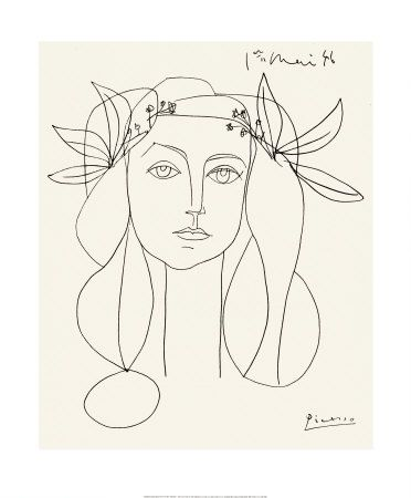 "Love, love, love this! Picasso's ""Head"""