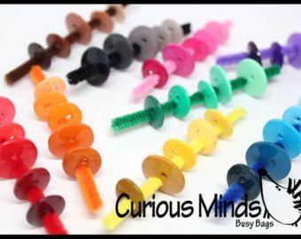 Couleur échelle tri sac occupé - comprimés de couleur Montessori - Trier par couleur-différencier les teintes-Discrimination de…