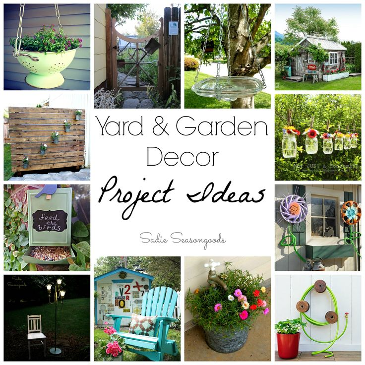 The 102 best images about up cycled garden decor on for Best upcycled projects