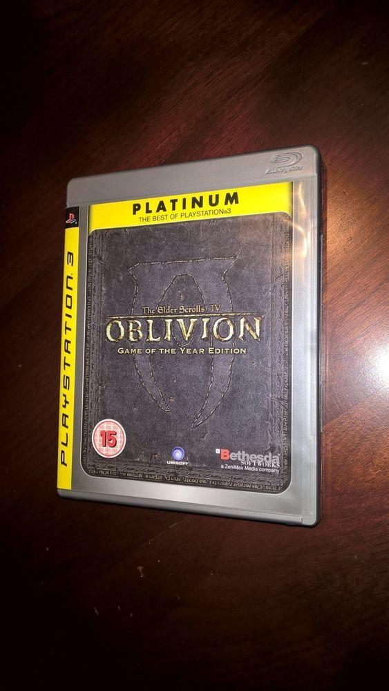 The Elder Scrolls IV - Oblivion PS3 Game Used | eBay