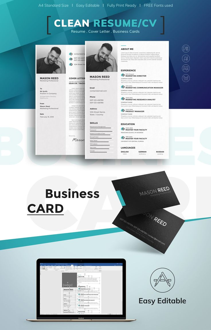business analyst resumes%0A Mason Reed  Marketing Professional Resume Template