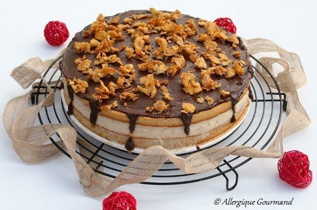 Vous le reconnaissez ?? Pour ceux qui me suivent sur Instagram, vous avez pu découvrir ce gâteau réalisé le week-end dernier pour l'anniversaire de mon Allergique Gourmand. 15 ans, un vrai adolescent. Très gourmand !!!! 15 ans qu'il mange sans œufs, sans...