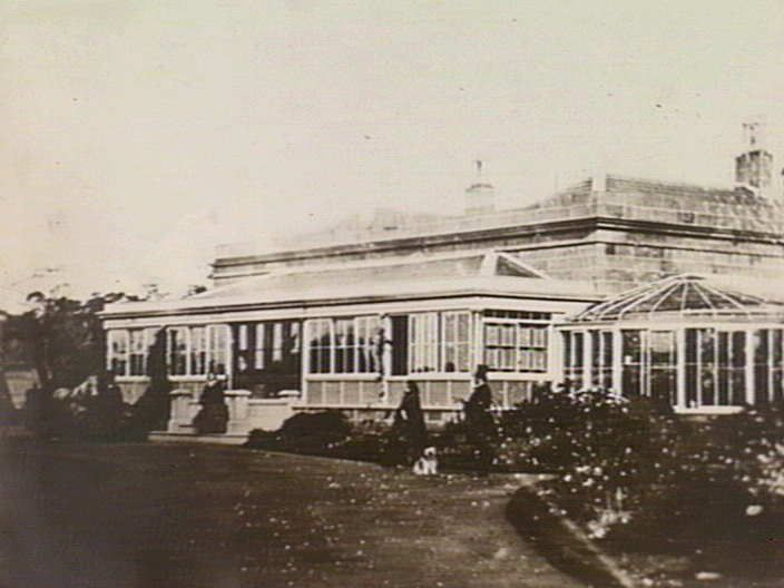[Burswood, residence of Edward Henty, Portland] [picture] , State Library of Victoria - Historic conservatories