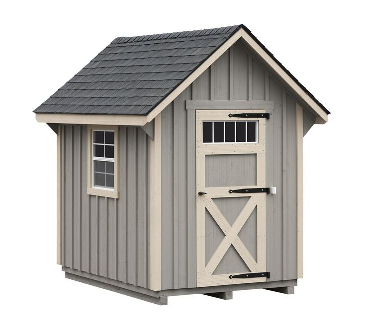 Best 25 small sheds ideas on pinterest backyard storage for Board and batten shed plans