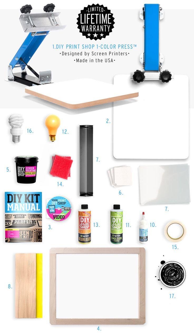 Design t shirt maker free - Diy Print Shop T Shirt Screen Printing Kit