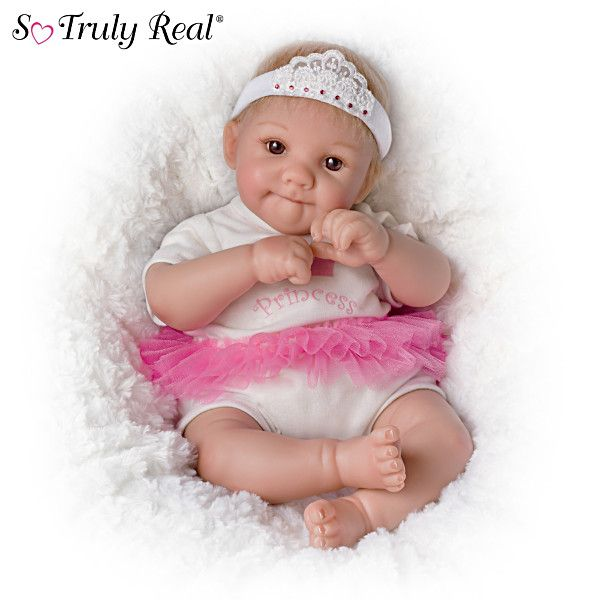 Cheryl Hill Quot Little Princess Quot Poseable Baby Doll