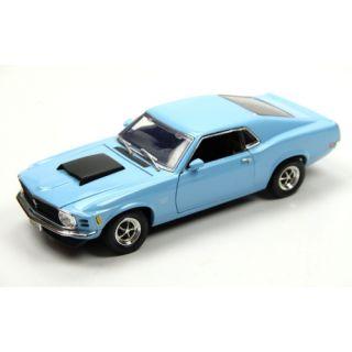 Motormax 1970 Ford Mustang Boss 429 1:18 Model Araba Mavi | Sepetim DOLU® Hesaplı Güvenli Alışveriş