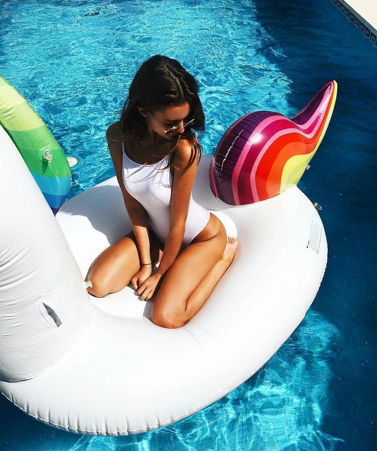 pool swan float