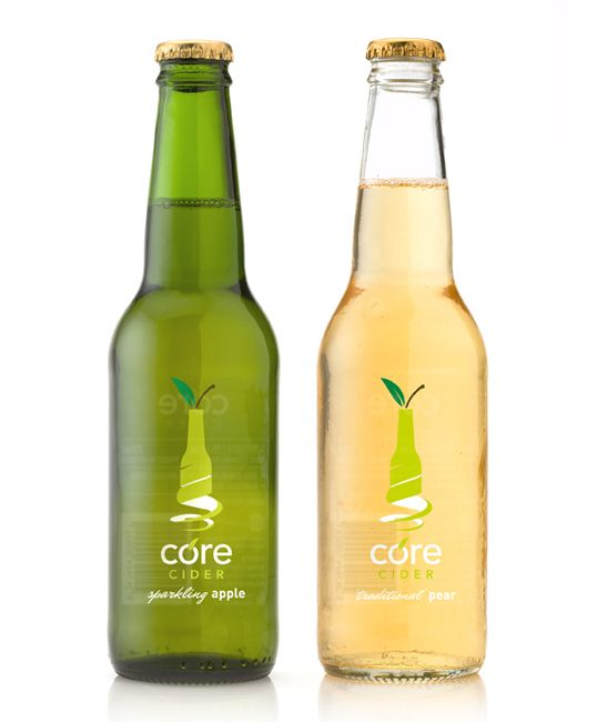 CORE Cider: Logo, Inspiration, Core Cider, Package Design, Simple, Packaging Design, Design Packaging, Bottle, Packaging Drinks