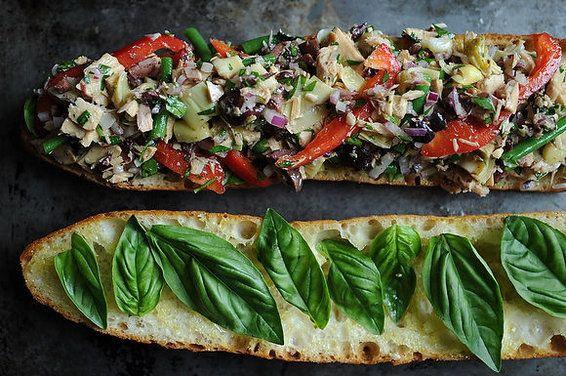 Pan Bagnat: Le French Tuna Salad Sandwich by Wqverly, food52 #Sandwich #Tuna #Waverly #food52
