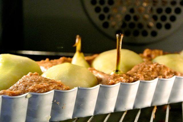Speculaas peren taart