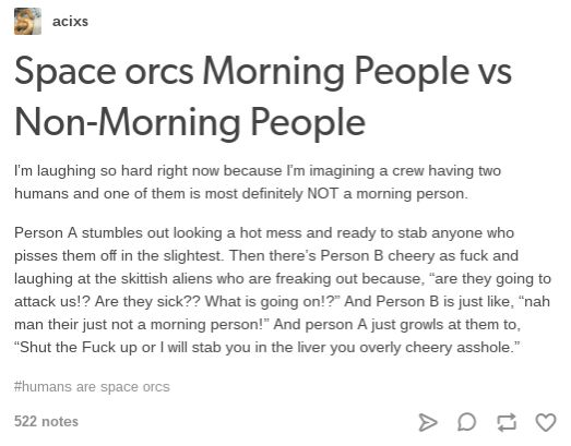 Humans Are Weird / Space Australia Morning People