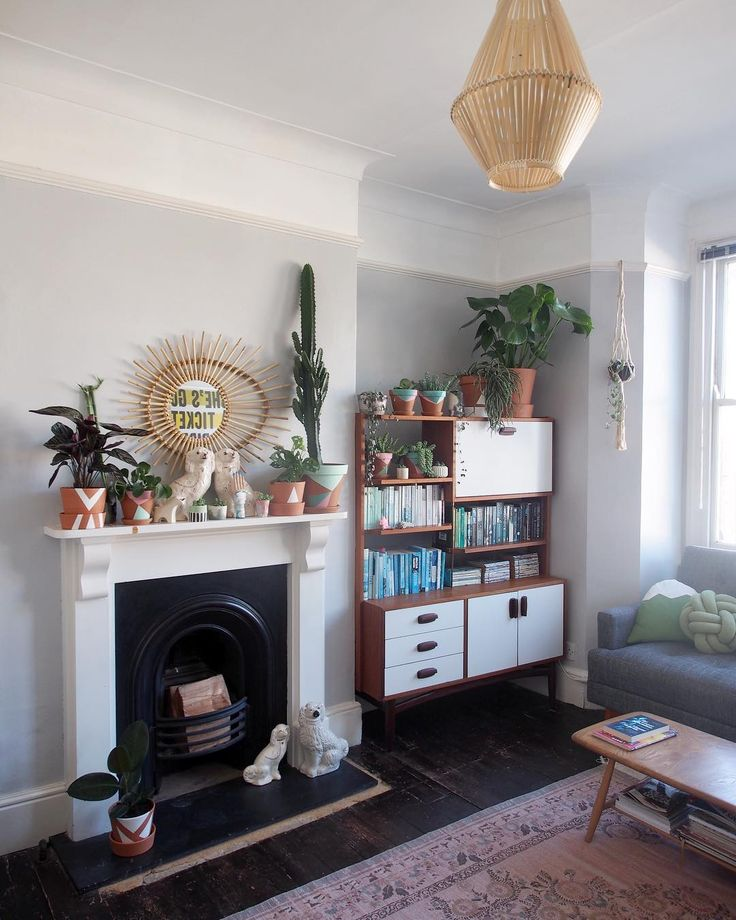 70s vibes and plant filled living roomu2026 The