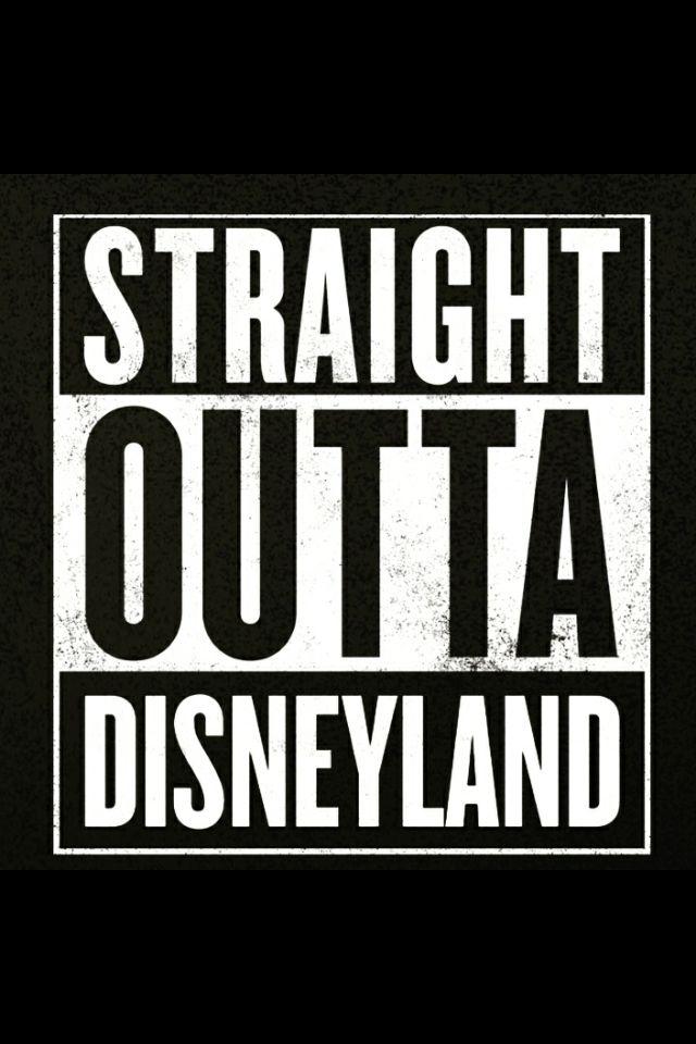 Straight outta Disneyland
