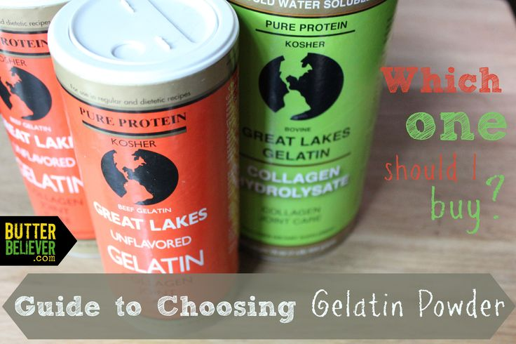 Which kind of gelatin powder should you buy? A handy guide for choosing the right one!   And I would add, the more grass fed beef you can get in you the better. And there are more varieties than this one, so, like, you have options. And I'd say buying through her link for this brand is a good on :-)