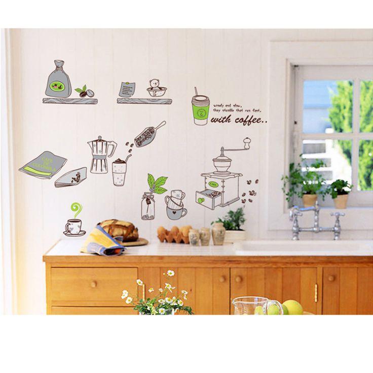 Kitchen Cartoon Removable Room Vinyl Decal Art Wall Home Decor Kid DIY Sticker http://www.ebay.com/itm/Kitchen-Cartoon-Removable-Room-Vinyl-Decal-Wall-Home-Decor-Kids-Stickers-Mural-/251892108868