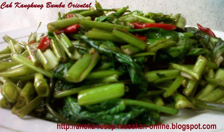 Cah kangkung bumbu oriental - Ini dia resepnya http://aneka-resep-masakan-online.blogspot.co.id/2015/11/resep-cah-kangkung-oriental-lezat.html