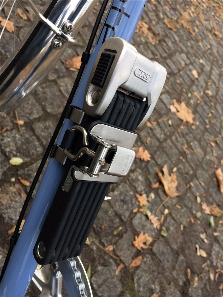 Abus #Faltschloss #raketerad #raketemeral #taubenblau #edelstahl #fahrradschloss