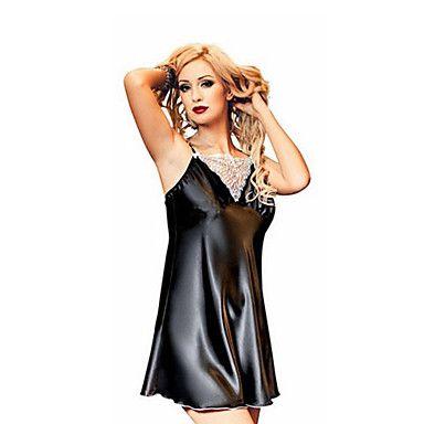 kvinnors plus size sexiga underkläder mode nattkläder klänning - SEK Kr. 94