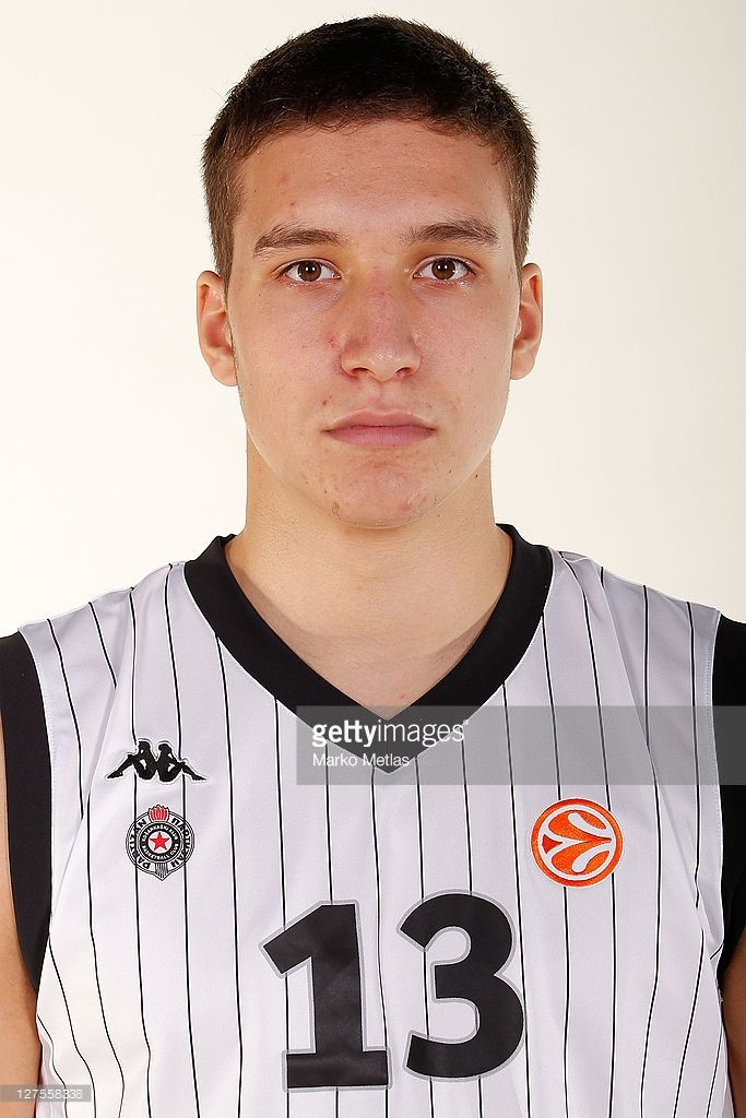 Bogdan Bogdanovic of Partizan poses during the 2011/12 Turkish Airlines Euroleague Basketball Media day at Beograd Arena on September 28, 2011 in Belgrade, Serbia.