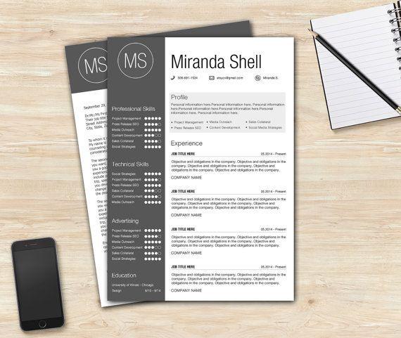 15 best Resume Template / CV Template / Buy now resume template