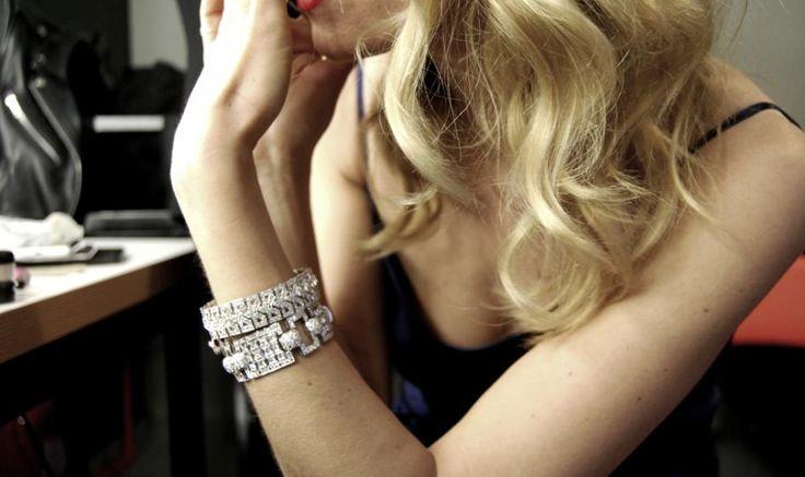 Vicky Kagia, Vicky Kaya, bracelet, diamonds, Fashion Workshop, Diamond Club Danelian jewelry.