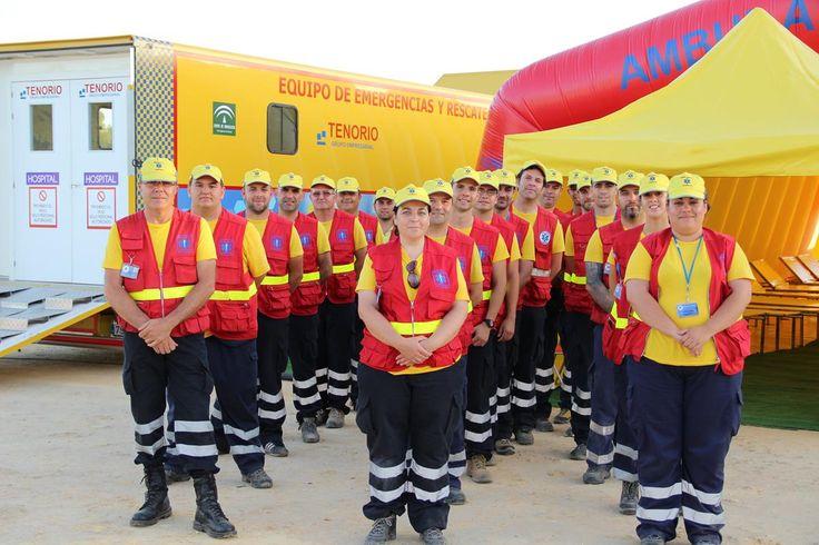 El equipo de Tenorio al completo en el Crisis Task Force 2014