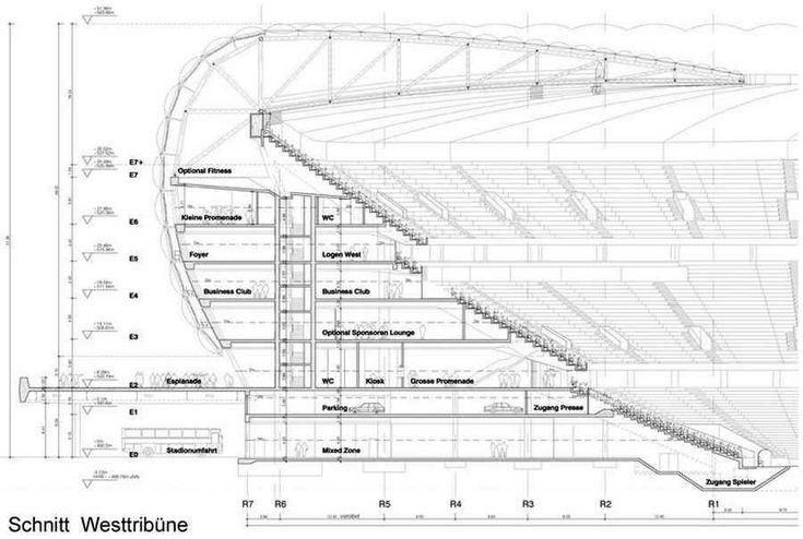 Allianz Arena Stadium Plan Allianz arena images : herzog