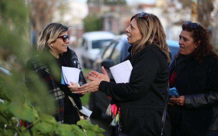 Viviana Bustos, Nora Turconi y Susana González - Julio 2017 PASO.