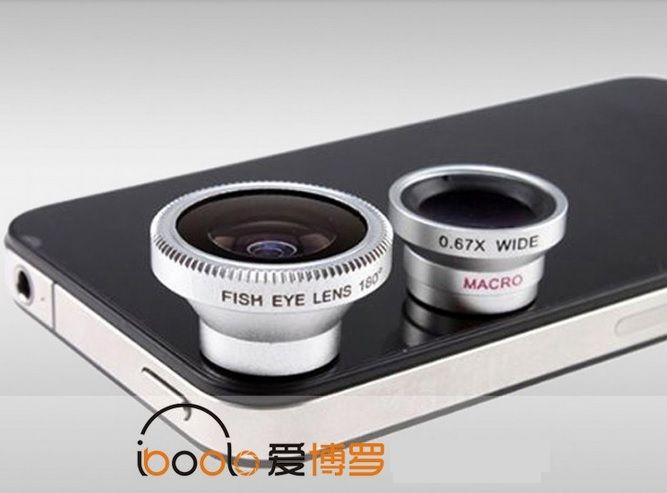 Σετ Φακών (lens) για Κινητά και iPod - myThiki.gr - Θήκες Κινητών-Αξεσουάρ για Smartphones και Tablets - Fish Eye - Wide Angle - MacroLens