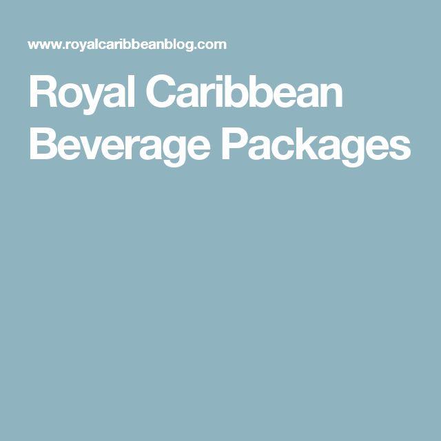 Royal Caribbean Beverage Packages