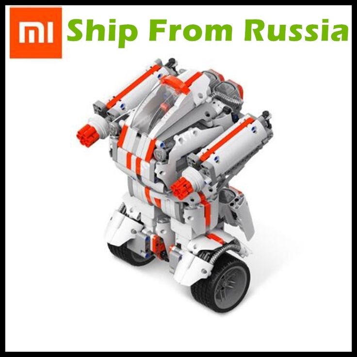 98.99$  Buy here - (Ship From Russia) Xiaomi Robot Mitu Building Block Robot Bluetooth Mobile Remote Control 978 Spare Parts Self-balance System   #SHOPPING