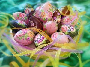 Советы по окраске яиц