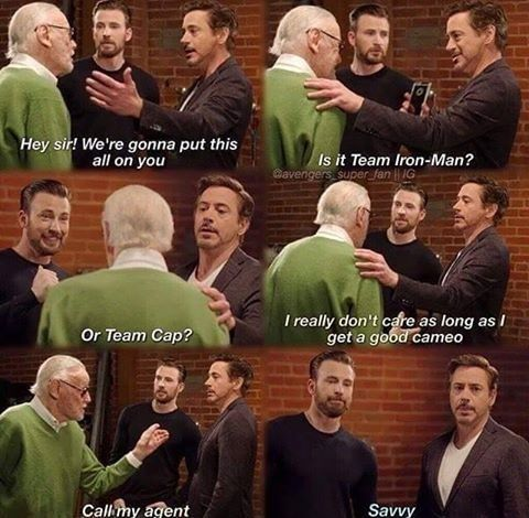 It Doesn't Get Any More OG Than Stan Lee #lol #haha #funny