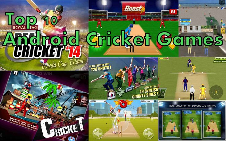 CRICKET GAMES : TOP 10 Best Free Cricket Games For Android/iOS 2016