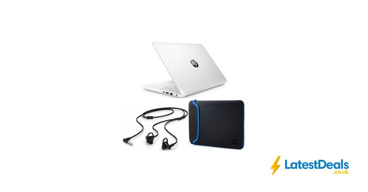 "HP 14-Bp071sa 14"" Laptop, Sleeve & Earbuds Bundle Free Delivery, £379 at Currys PC World"