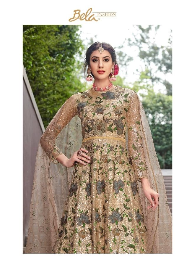 ff2db6776c BELA FASHION REGAL DESIGNER NET WITH HEAVY EMBROIDERY WORK SALWAR KAMEEZ  FOR RAMZAN AT WHOLESALE RATE