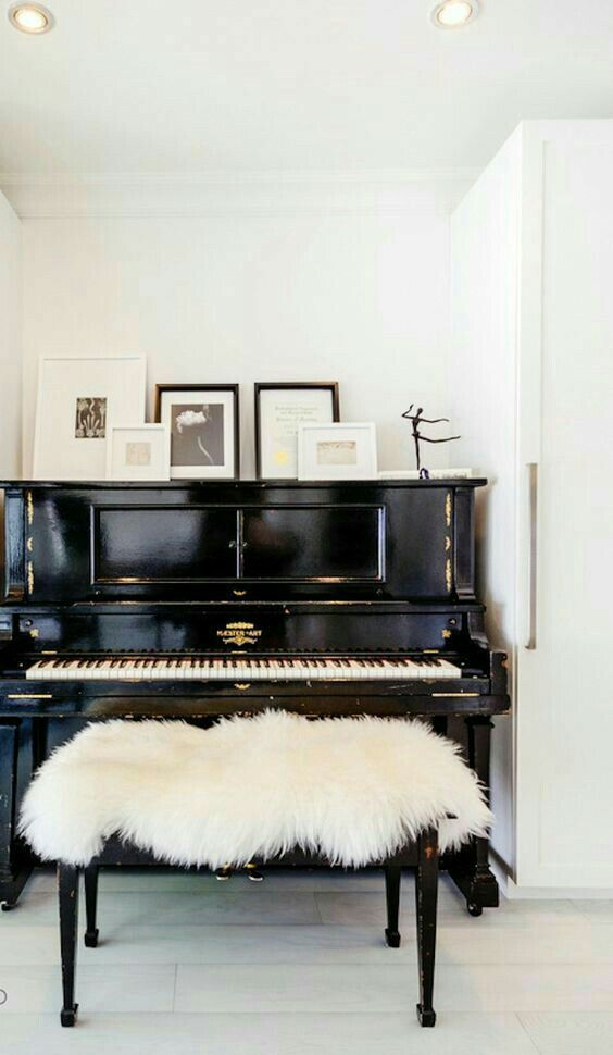 My piano is my sanctuary. Serene and joyful. Singing praises to the lord.